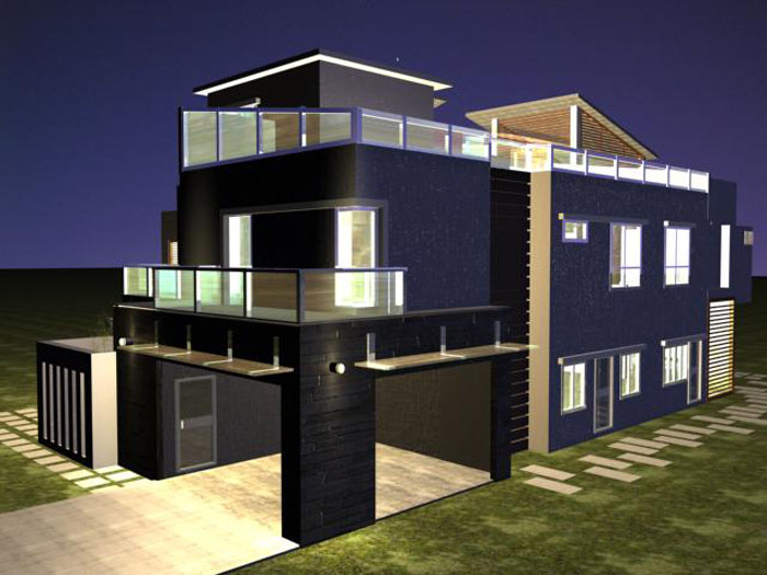 Beautiful Home The Best Film In 3D Plans Banglows
