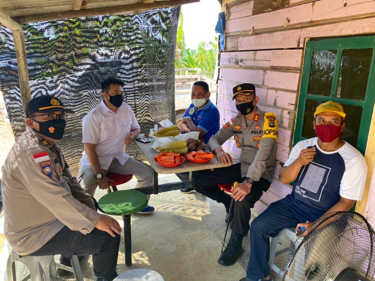 Cek Kampung Tangguh, Kapolres Bintan Apresiasi Masyarakat Desa Toapaya Asri Yang Telah Membentuk Pok Tani Horiutama
