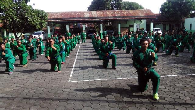 Minggu Militer Kodim Batang gelar Latihan Yongmoodo