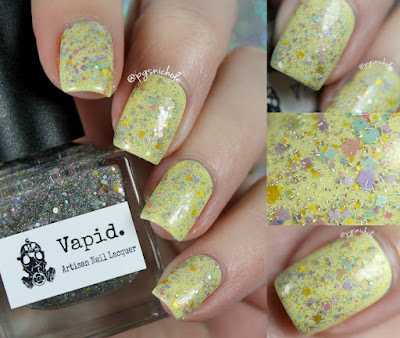 Vapid Lacquer Pretty Pretty Princess over Ostara