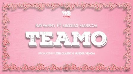 Teamo Lyrics - Rayvanny ft. Messias Maricoa