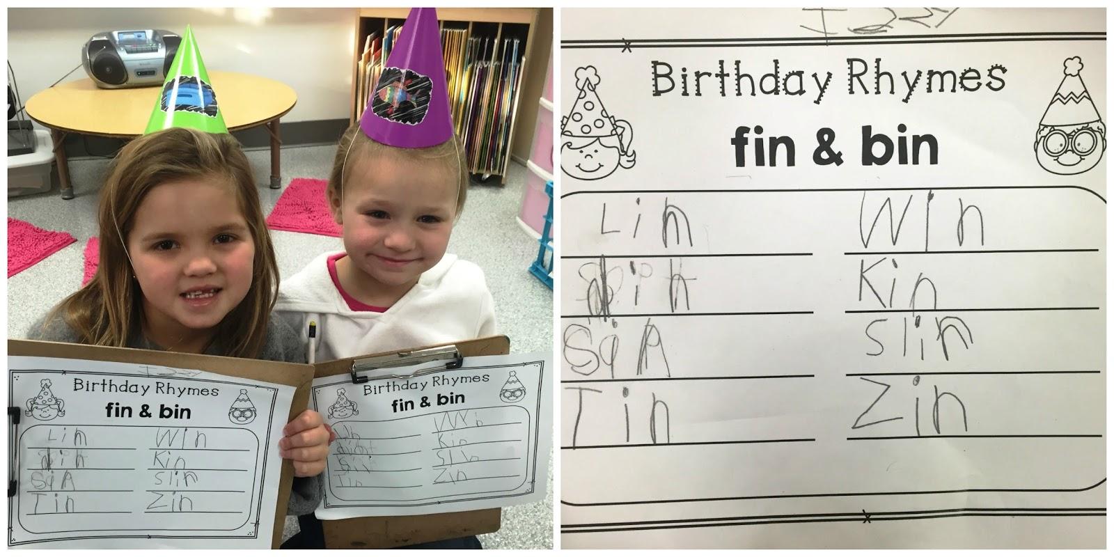 Kindergarten Rocks Birthday Day Of Fun
