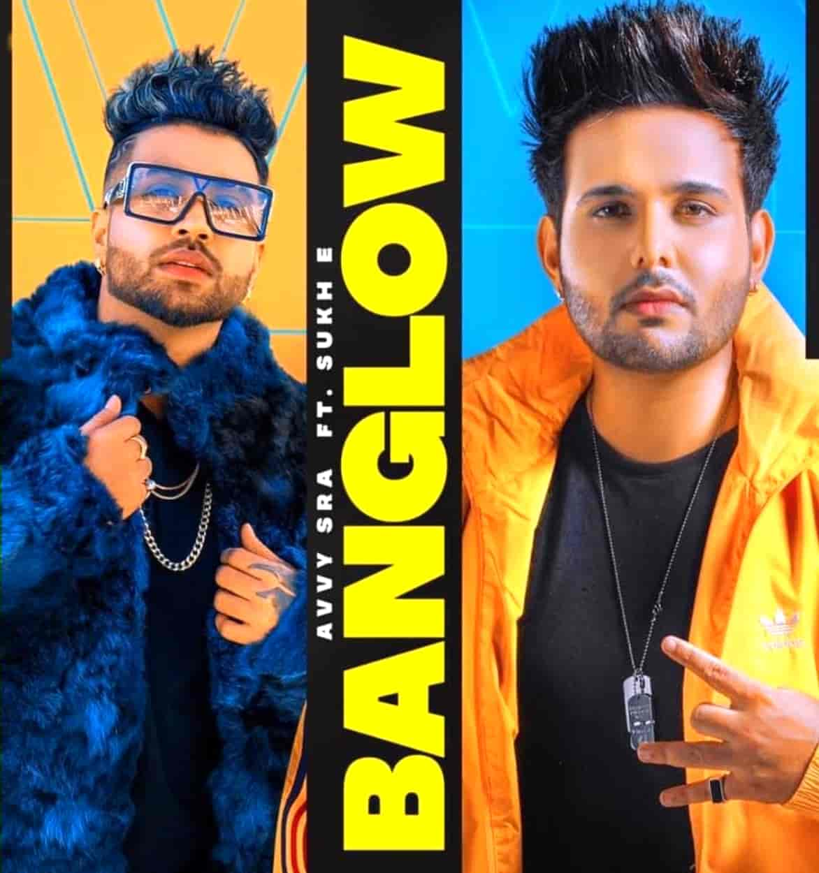 Banglow Punjabi Song Image Features Avvy Sra and Afsana Khan