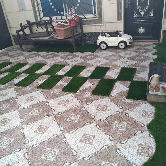 تنسيق حدائق بالكويت,تركيب عشب صناعي الكويت,تنسيق حدائق سطح المنزل بالكويت