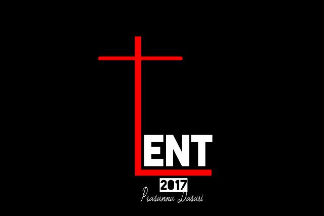Lent Days Post  2017 - Ash Wednesday