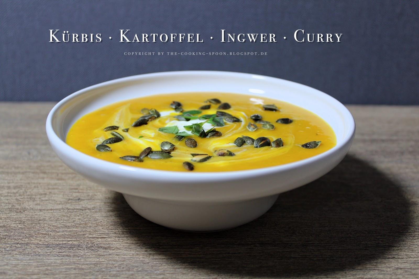 The Cooking Spoon Kartoffel Kürbis Suppe Mit Gerösteten Kürbiskernen