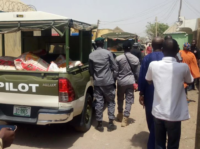 Customs seizes contraband rice hidden in Yola residential building