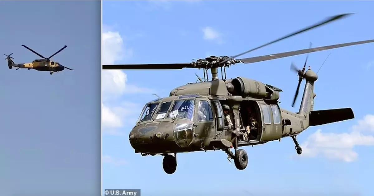 Video Shows Taliban Fighters Flying Captured US Blackhawk Helicopter Over Kandahar