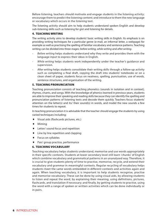 Trang 6 sach Sách Giáo Viên Tiếng Anh 6 Tập 2