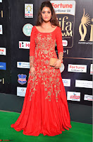 Ritika in sindoori Red Dress at IIFA Utsavam Awards 2017  Day 2  Exclusive 18.JPG