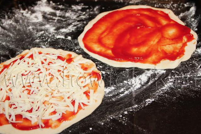 рецепт мини-пиццы с пошаговыми фото