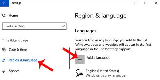 computer ke language ko change kaise kare