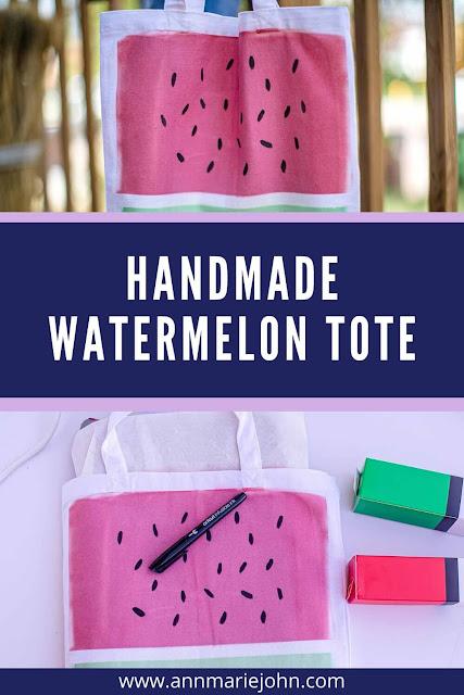 Handmade Watermelon Tote