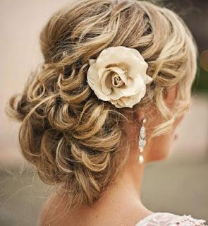 wedding hairstyle for medium lenght hair
