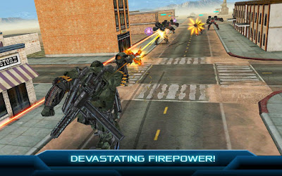 Game Transformers Age Of Exitenction Mod Apk v1.11.1 Update Terbaru for Android Gratis
