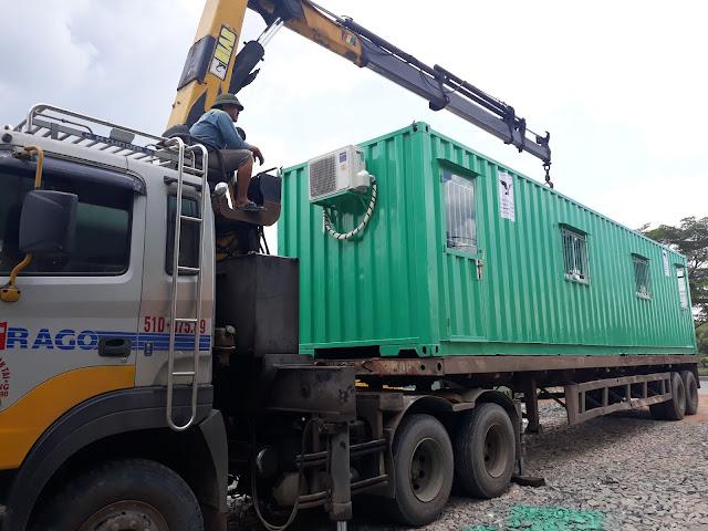 Bán Container Tại Bình Long Bình Phước Làm Văn Phòng