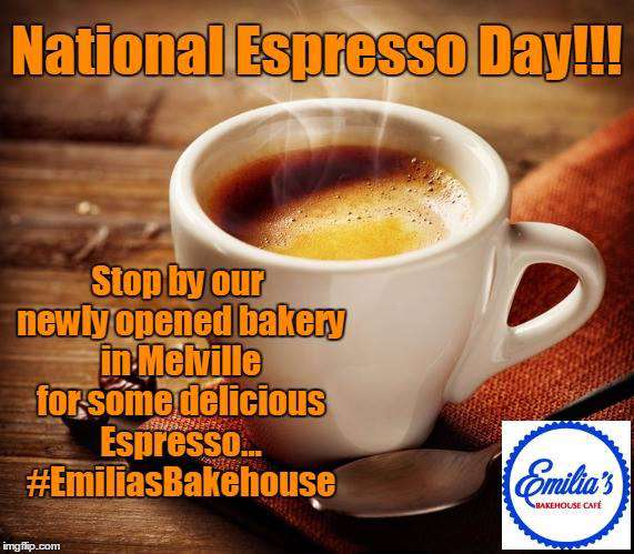 National Espresso Day Wishes For Facebook