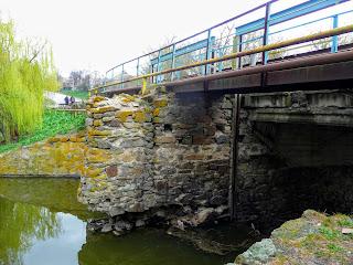Бобринец. Мост через Бобринку