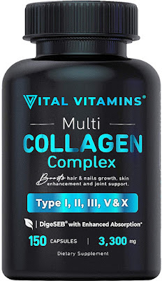 Vital Vitamins Collagen Complex
