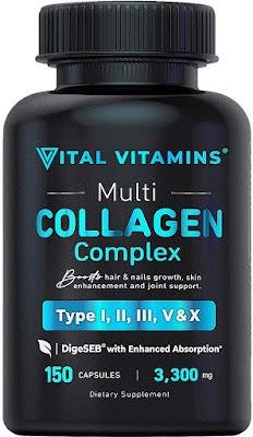 Vital Vitamins Collagen Complex