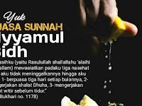 Puasa Ayyamul Bidh Pertengahan Bulan Sya'ban