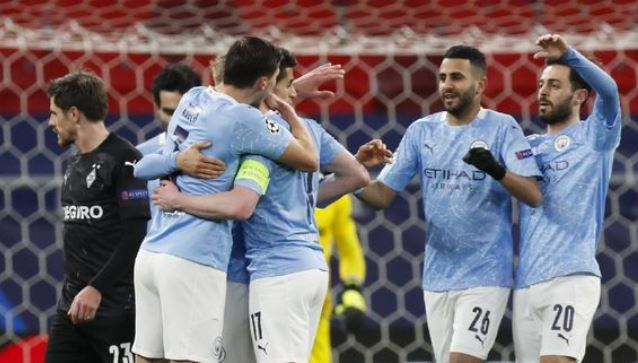 Manchester City vs Borussia Moenchengladbach 4–0 Highlights