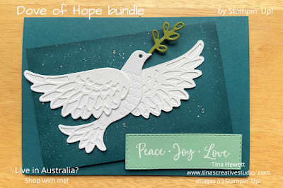 Dove of Hope card www.tinascreativestudio.com