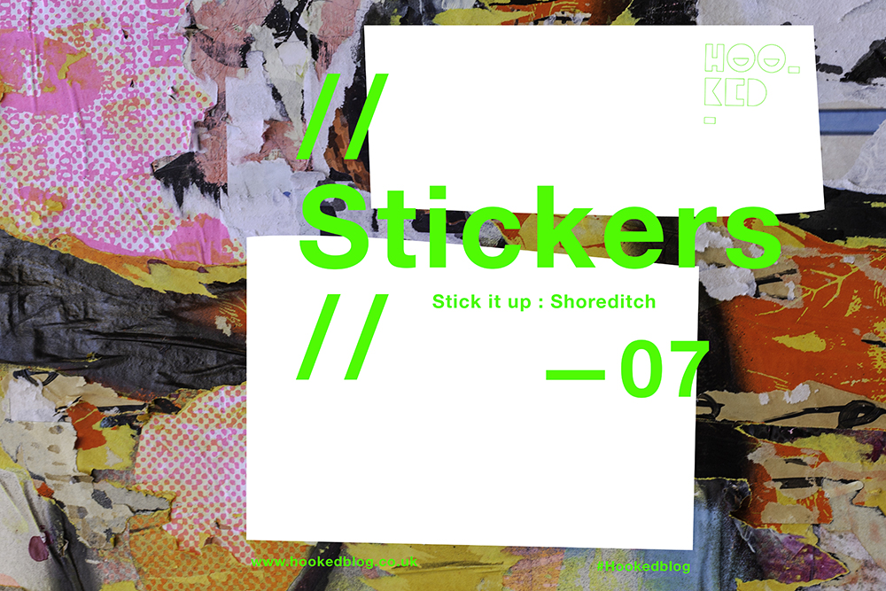 Stick it up: Shoreditch Street Art Stickers Photo Collection