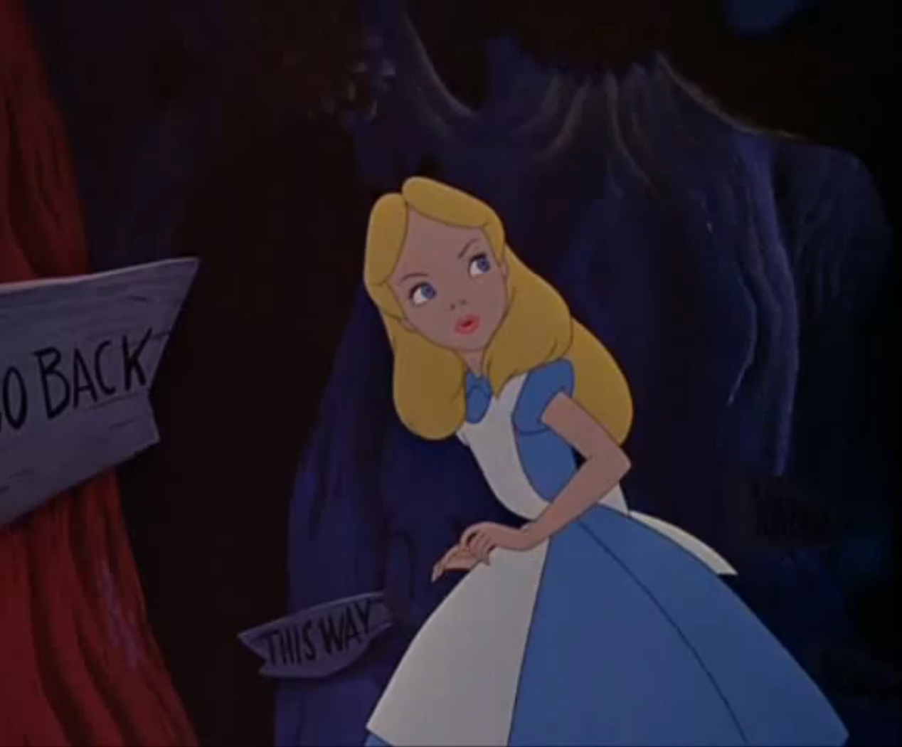 Who Can Turn The World Off With Her Smile?: Alice in Wonderland (1951
