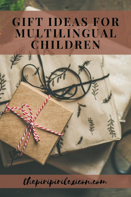 Non-language specific gift ideas for bilingual and multilingual kids