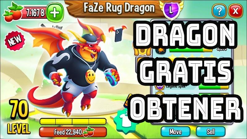 Dragon Faze Rug : Como Obtener faze Rug Gratis