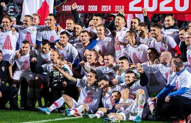 Utakmica Hrvatska - Slovačka 3:1 | kvalifikacije za Euro 2020