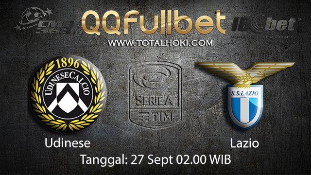 Prediksi Bola Jitu Udinese vs Lazio 27 September 2018 ( Italian Serie A )
