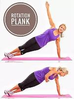 Rotation plank