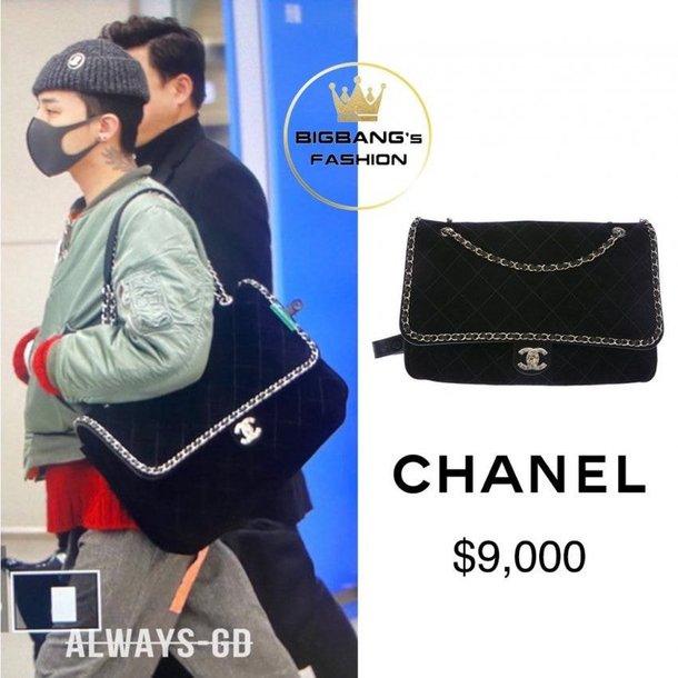 G-Dragon'ın havaalanında taktığı Chanel çantanın fiyatı dudak uçuklattı
