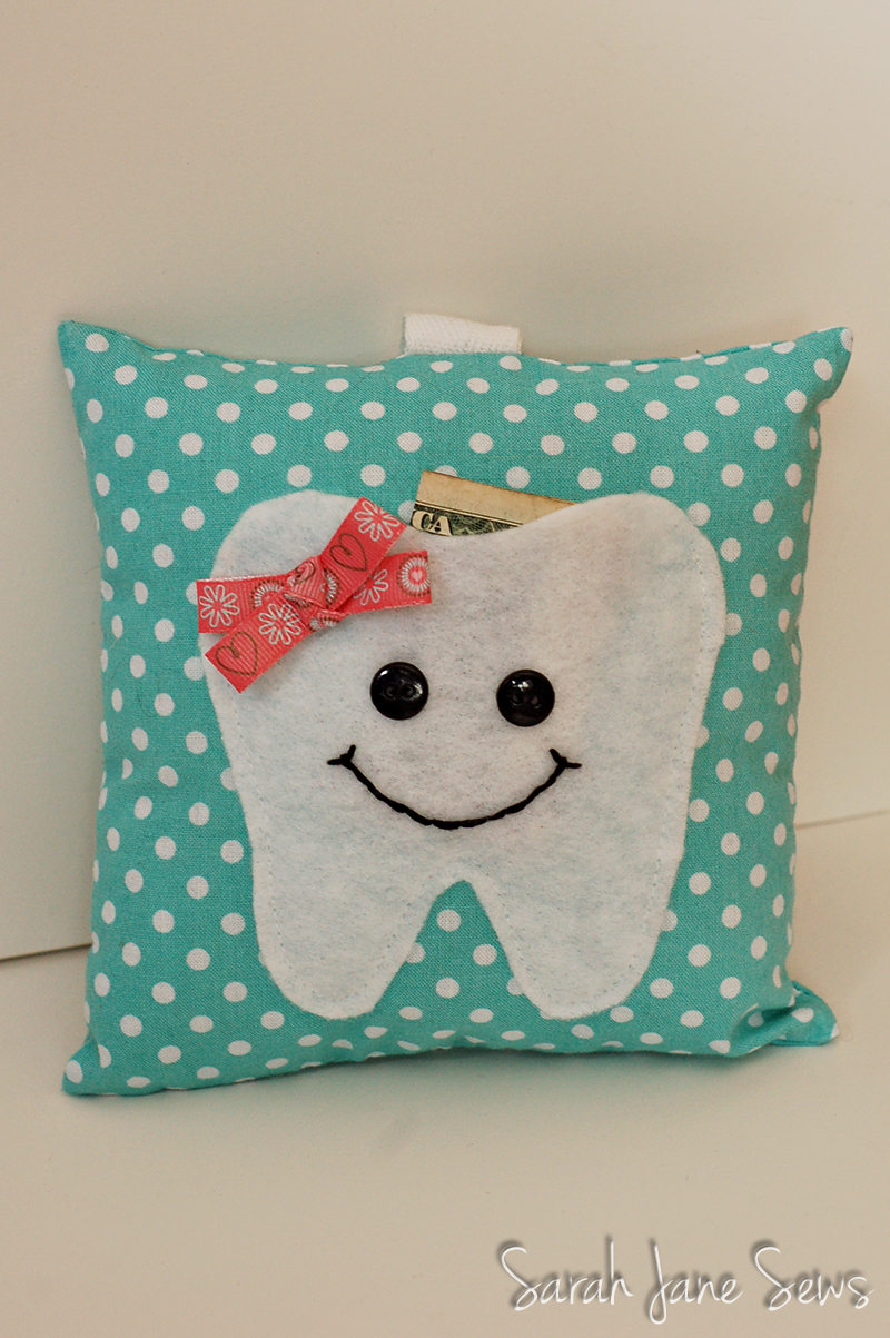 Sarah Jane Sews: Tooth Fairy Pillow