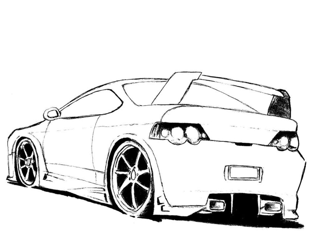 Car coloring pages online - Cars Online Coloring Pages