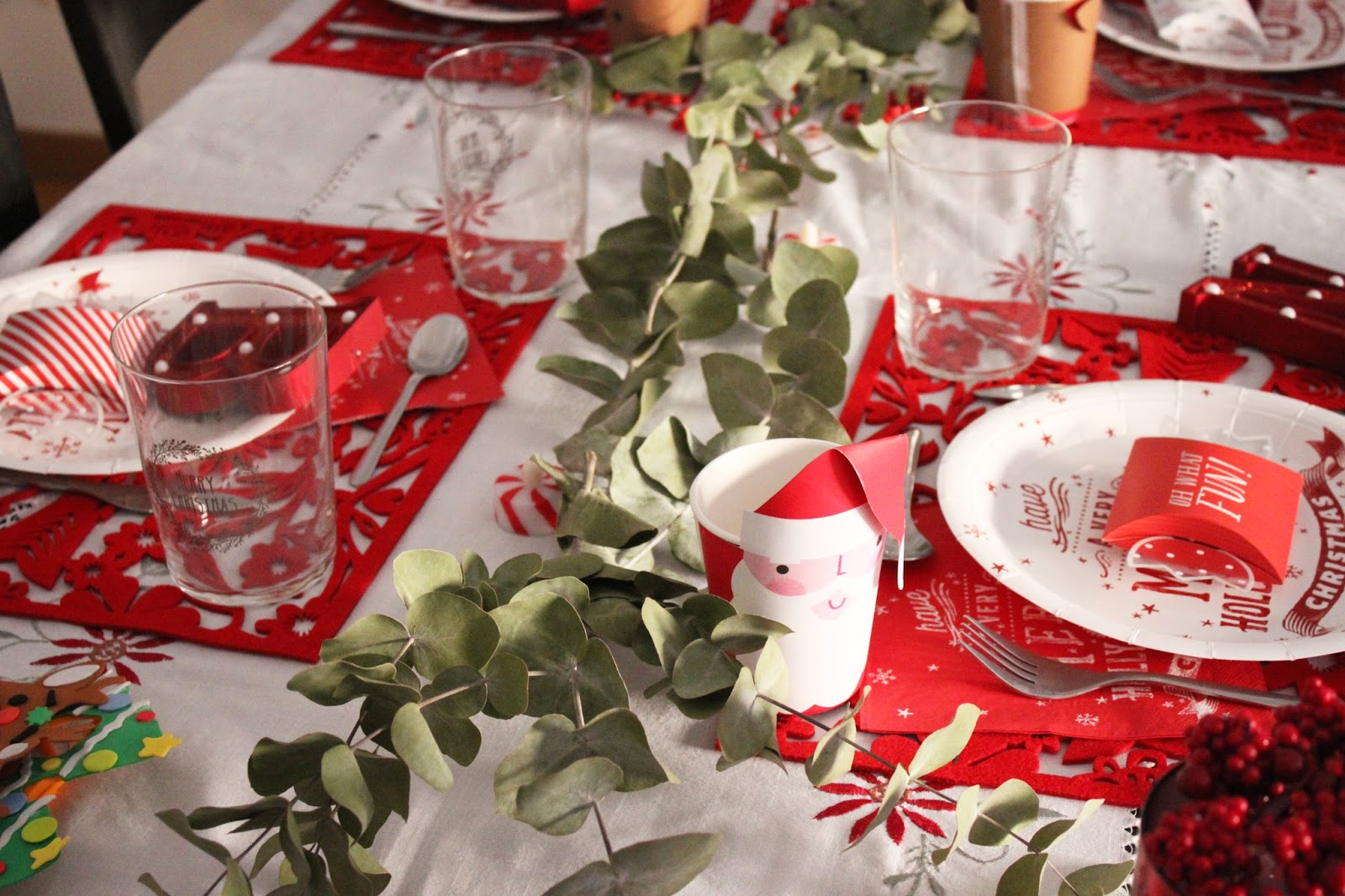 Deco: Nuestra mesa de nochebuena en 2016   De lunares y naranjas ...