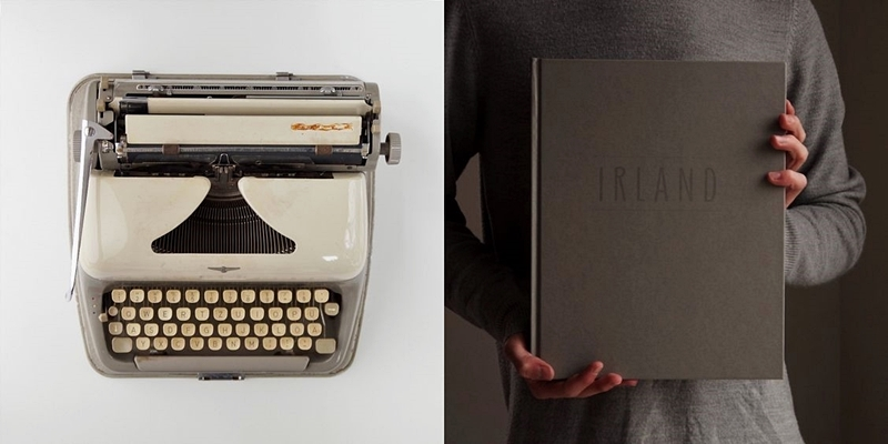 Some Favourites Right Now {March 2017}: Vintage Typewriter And Ireland Coffe Table Book