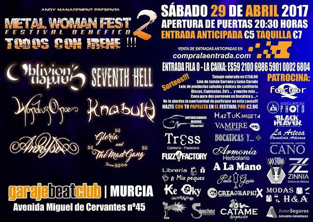 Metal Woman Murcia