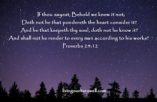 Proverbs 24:12