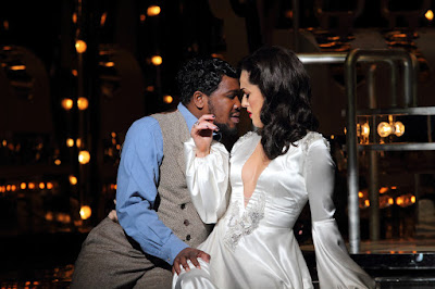 Verdi: La Traviata - Lukhanyo Moyake, Claudia Boyle - English National Opera (Photo Catherine Ashmore)