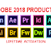Trick : Adobe 2018 Products - Activation
