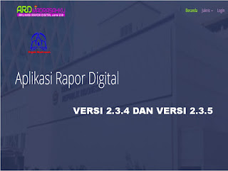 Aplikasi Rapor Digital