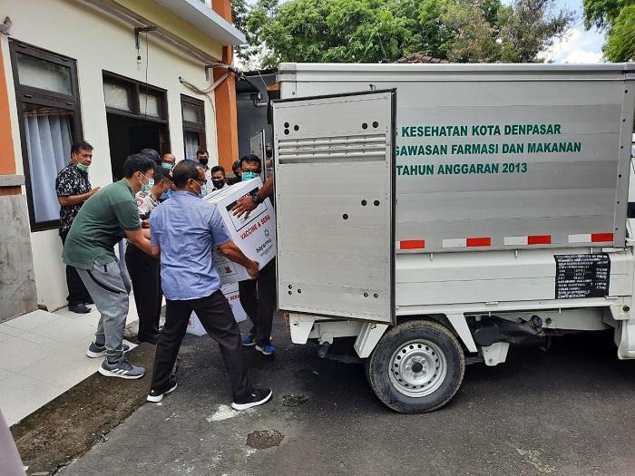 Terima 24.280 Vial, Denpasar Siap Vaksinasi Covid-19