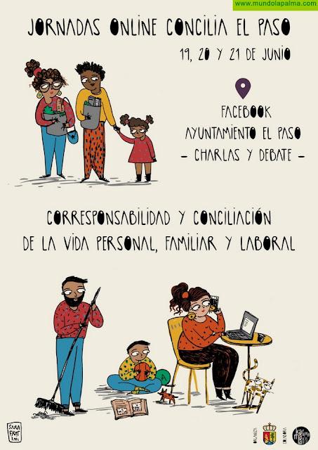 El Ayuntamiento de El Paso y Karmala Cultura ponen en marcha una jornada online sobre la conciliación personal, familiar y laboral