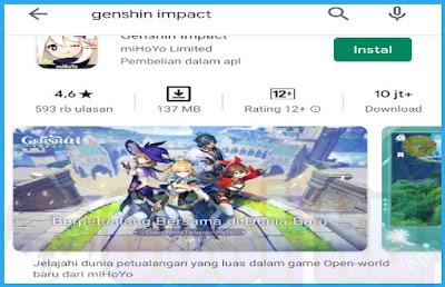 3 Cara Mengatasi Game Genshin Impact Tidak Bisa Dibuka Melalui Smartphone