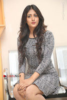 Actress Chandini Chowdary Pos in Short Dress at Howrah Bridge Movie Press Meet  0115.JPG