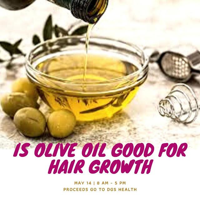 oilve oil for hair growth