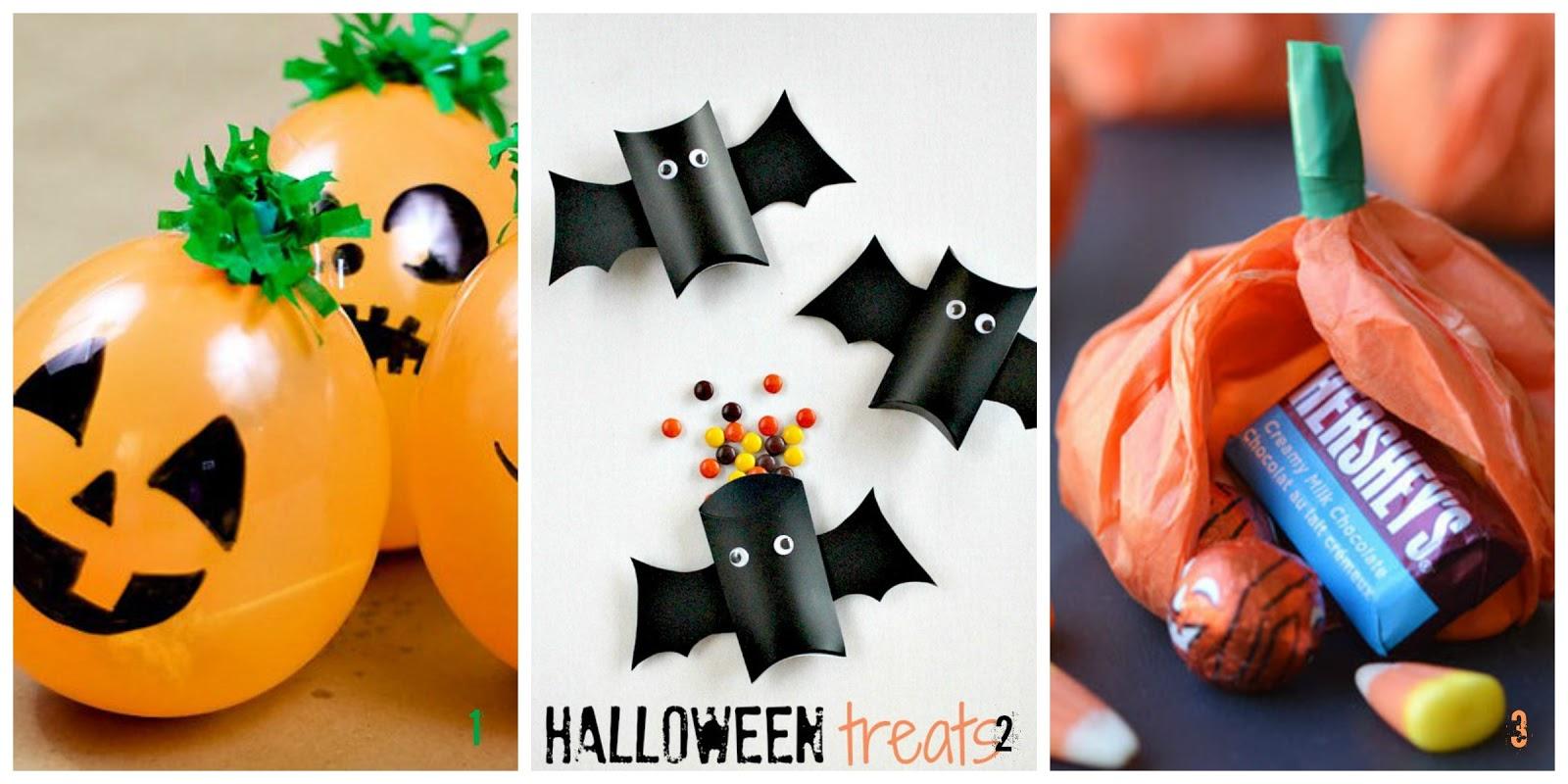 Halloween sacchetti fai da te per i dolcetti - Decorazioni fai da te per halloween ...